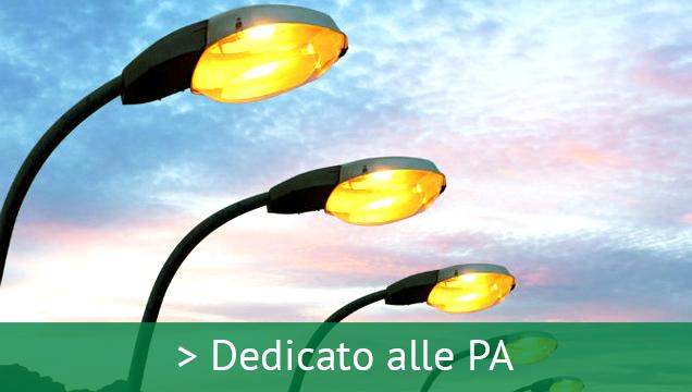 Luce e gas Pubblica amministrazione